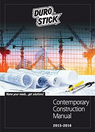 """Durostick Contemporary Construction Manual"""