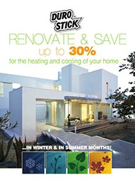 "Brochure ""Renovate & save up to 30% for the heating and cooling of your home"""