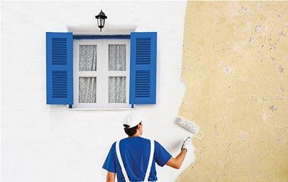 Στεγανοποίηση τοιχοποιίας με Waterproof Mortar