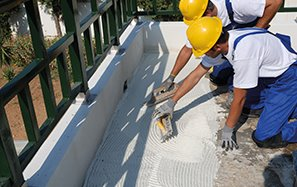 Adhesives for thermal insulation panel installations