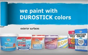 Exterior surfaces DUROSTICK color